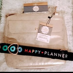 NWT Happy Planner Gold Classic Planner Purse